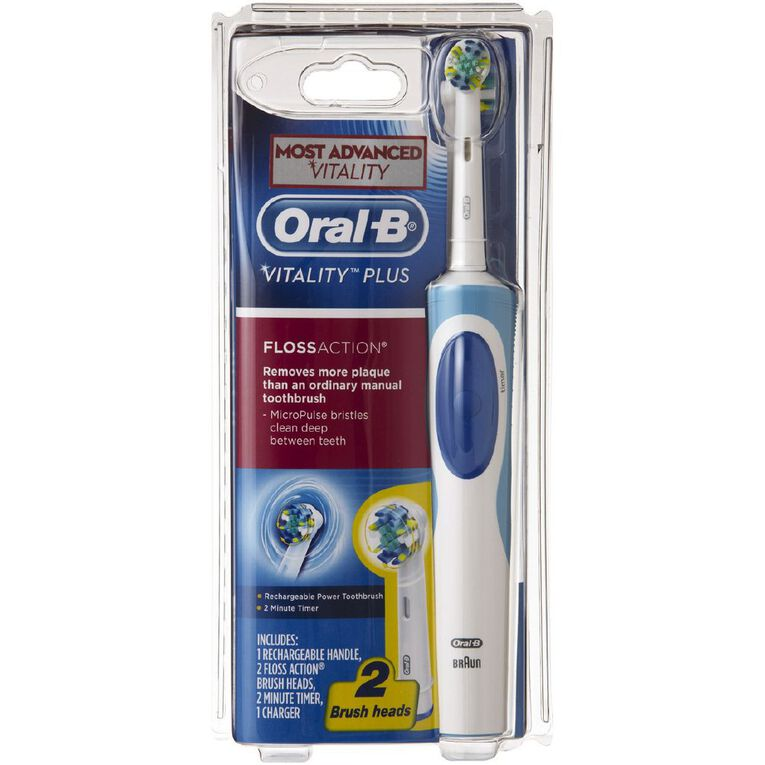 Oral-B Vitality Power Toothbrush Floss Action, , hi-res