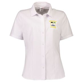 Schooltex Bream Bay Women's Short Sleeve Blouse