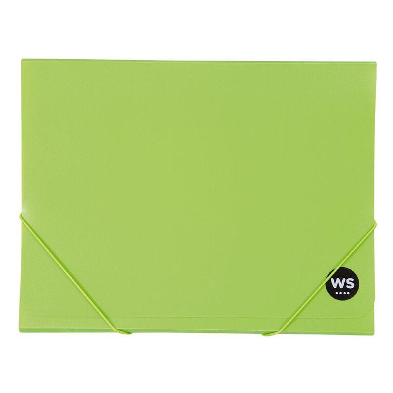 WS Wallet PP Elastic Green A4, , hi-res