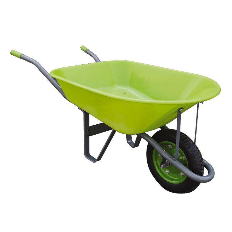 Kiwi Garden Plastic Wheelbarrow 75L, , hi-res