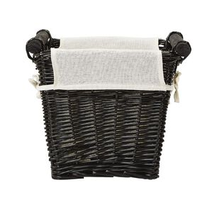 Living & Co Rectangle Wicker Basket Natural Small