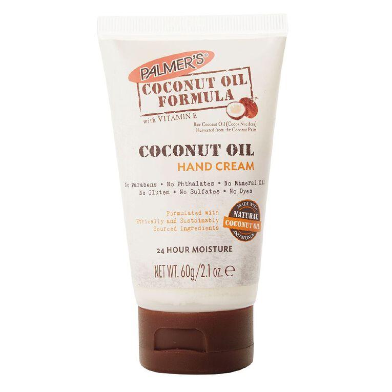 Palmer's Coconut Oil Formula with Vitamin E Hand Cream 60g, , hi-res