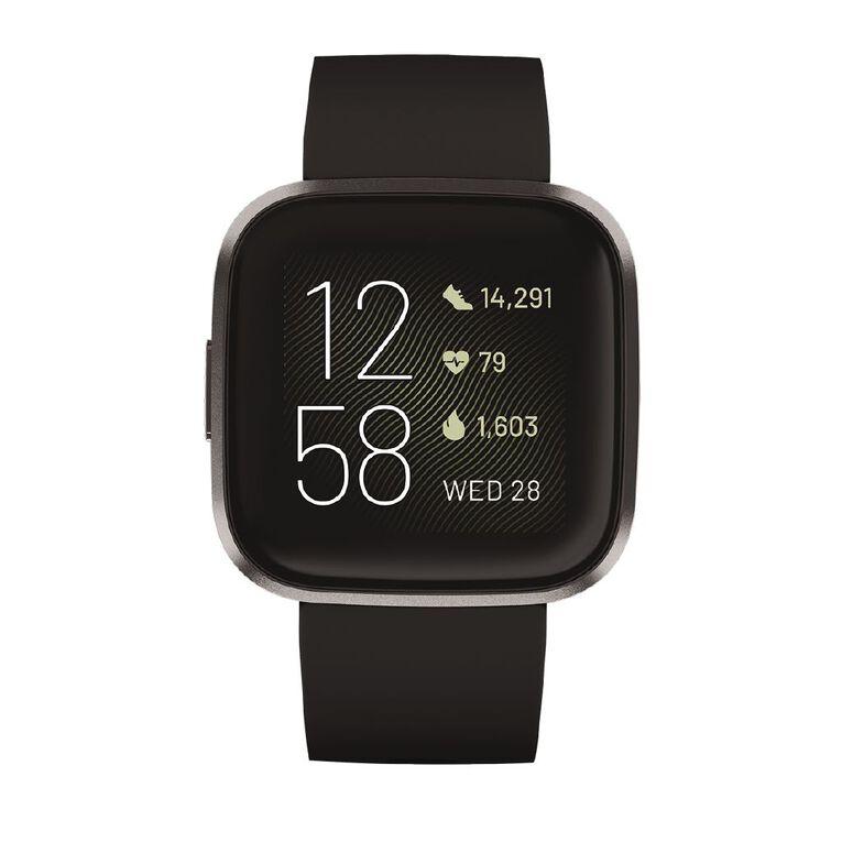 Fitbit Versa 2 Black/Carbon, , hi-res