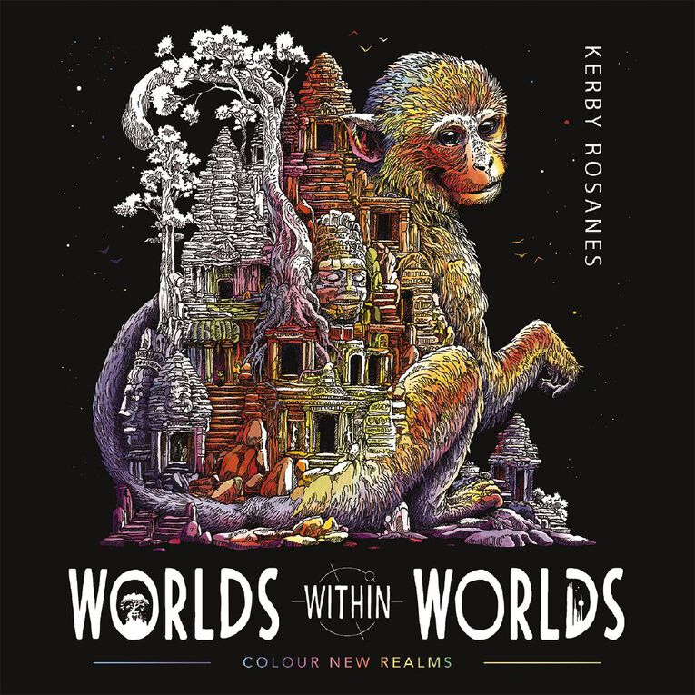Worlds Within Worlds: Colour New Realms by Kerby Rosanes, , hi-res