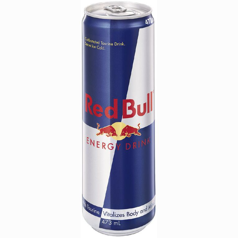 Red Bull Energy Drink Can 473ml, , hi-res