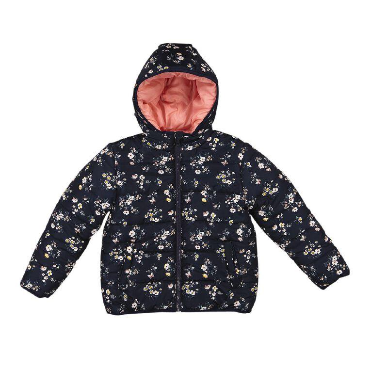 Young Original Reversible Puffer Jacket, Blue Dark, hi-res
