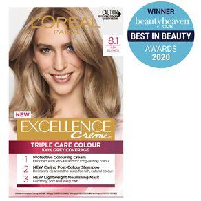 L'Oreal Paris Excellence Creme Ash Blonde 8.1