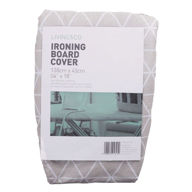 Living & Co Ironing Board Cover Printed Assorted, , hi-res