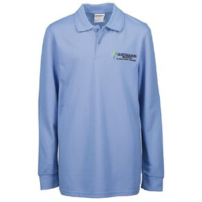 Schooltex Newfield Park Long Sleeve Polo with Embroidery
