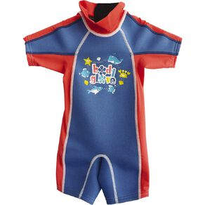 Body Glove Kids' Rash Suit Blue Size 6