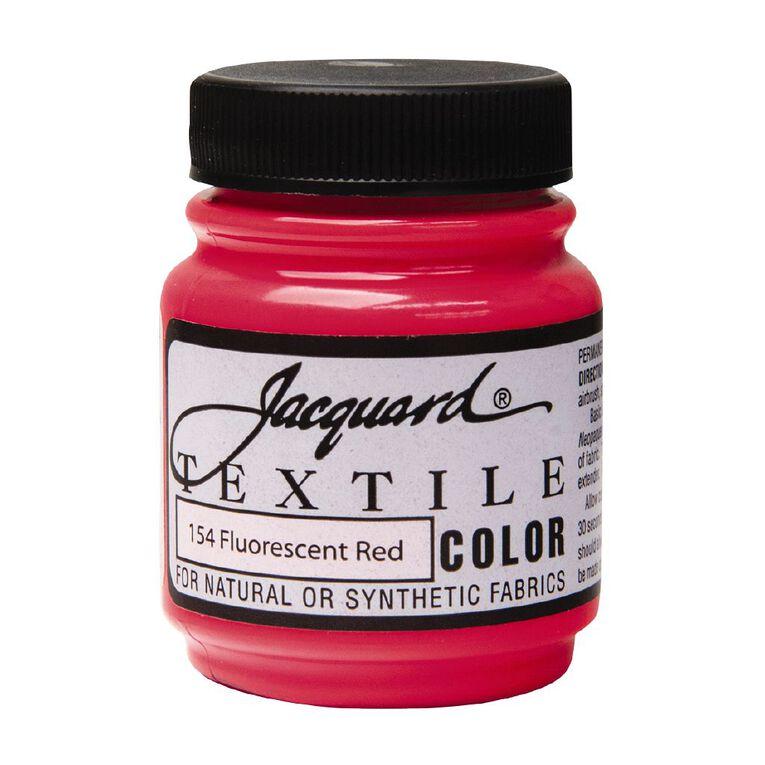 Jacquard Textile Colours 66.54ml Fluorescent Red, , hi-res
