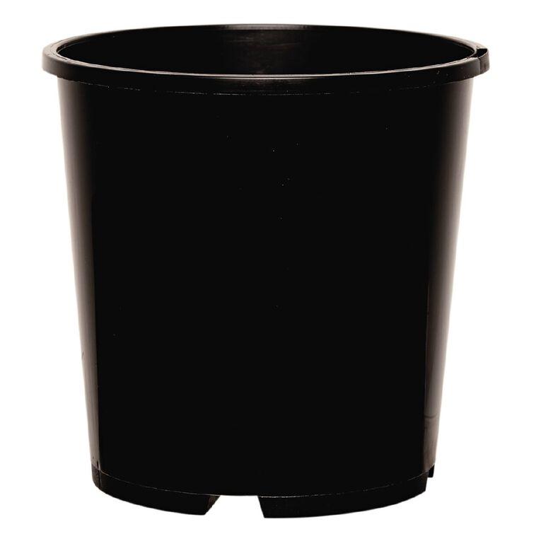 IP Plastics Pot Round 15cm Black 2L, , hi-res