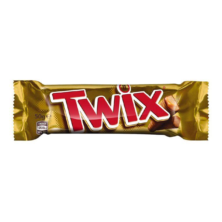 Twix Chocolate Bar 50g, , hi-res