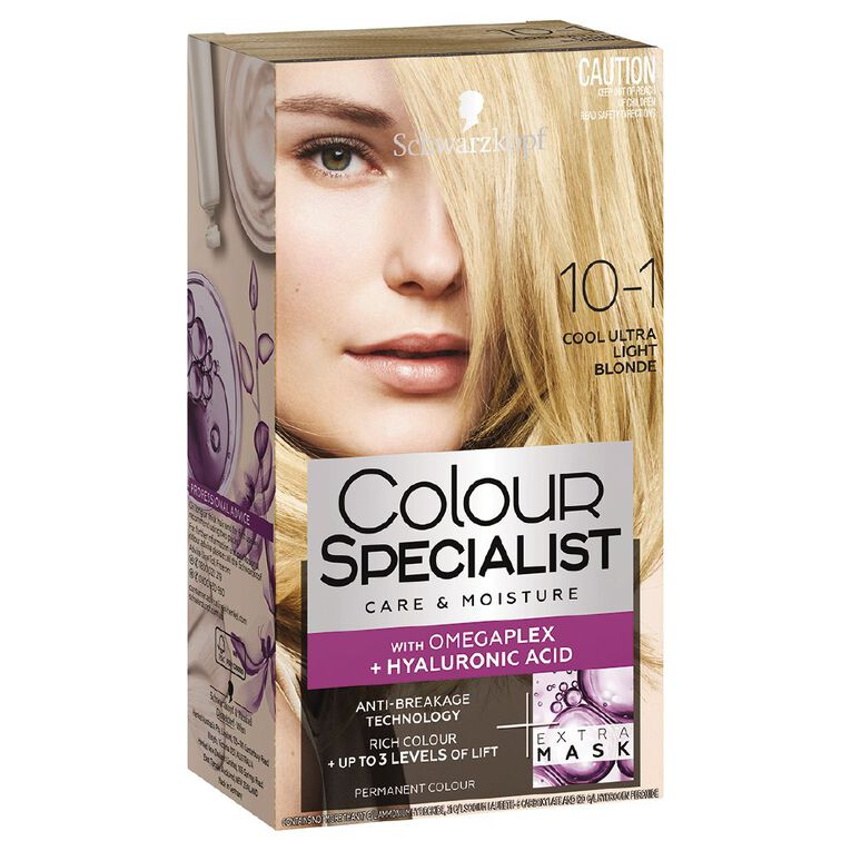 Schwarzkopf Colour Specialist 10-1 Cool Ultra Light Blonde, , hi-res