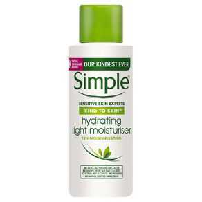Simple Kind To Skin Mini Hydrating Light Moisturiser 50ml