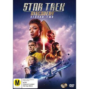 Star Trek Discovery Season 2 DVD 5Disc
