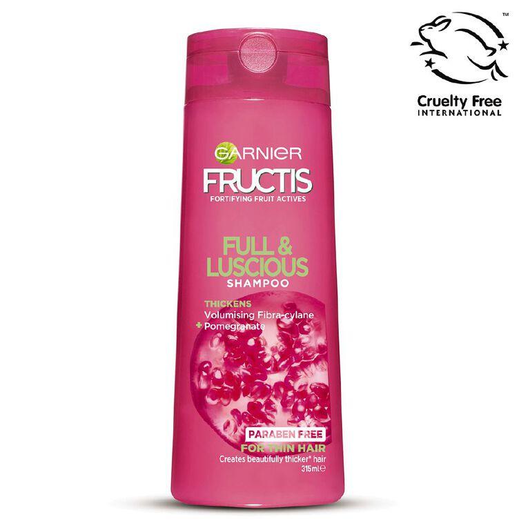Garnier Fructis Full and Luscious Shampoo 315ml, , hi-res