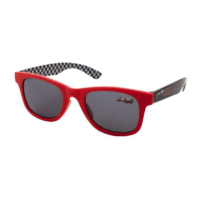 Kids Car Sunglasses, Red, hi-res