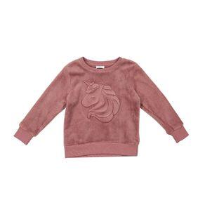 Young Original Embossed Print Sweatshirt