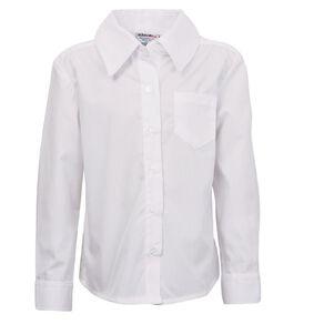 Schooltex Girls' Button Neck School Blouse
