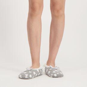 H&H Printed Footlet Slippers