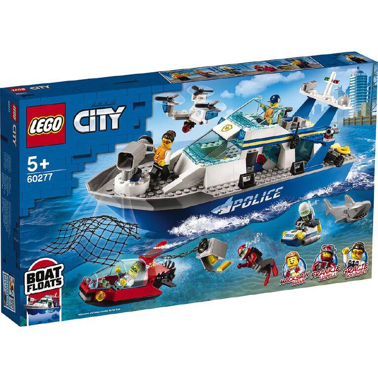 LEGO City Police Patrol Boat 60277, , hi-res