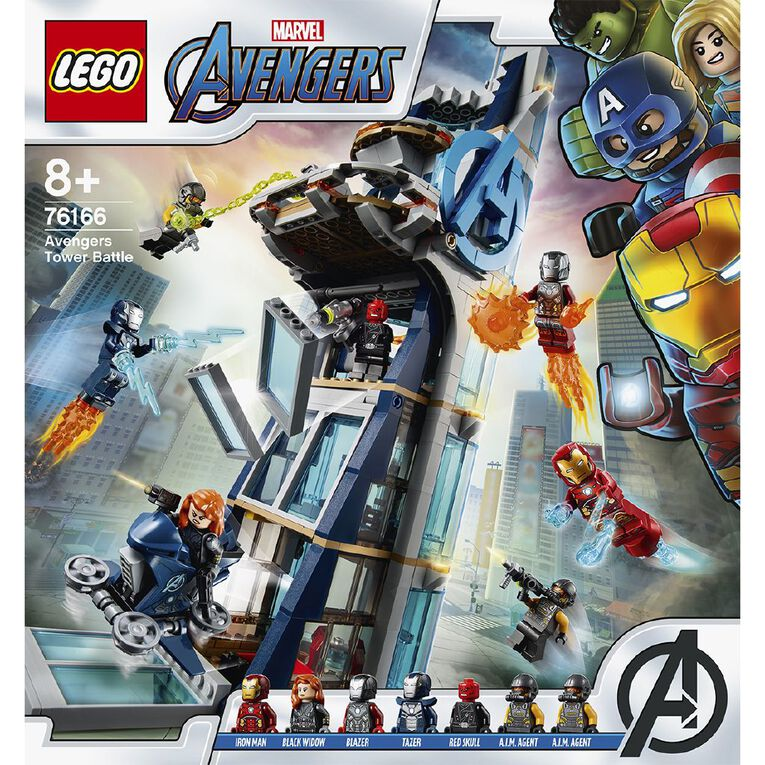 LEGO Marvel Super Heroes Avengers Tower Battle 76166, , hi-res