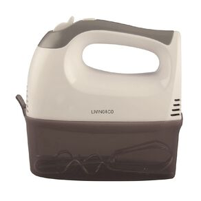 Living & Co Mixer 5 Speed with Container 300w Grey