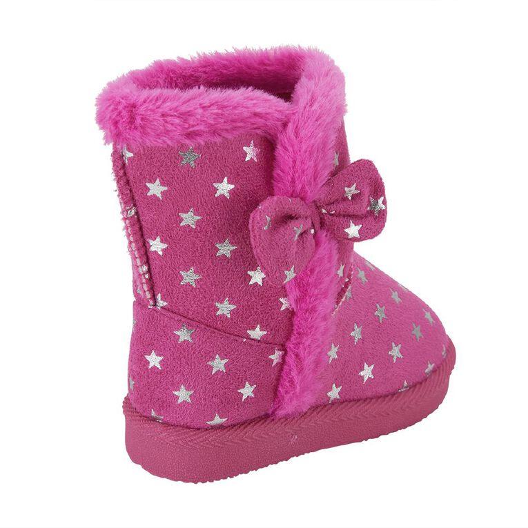 Young Original Star Slipper Boots, Pink, hi-res