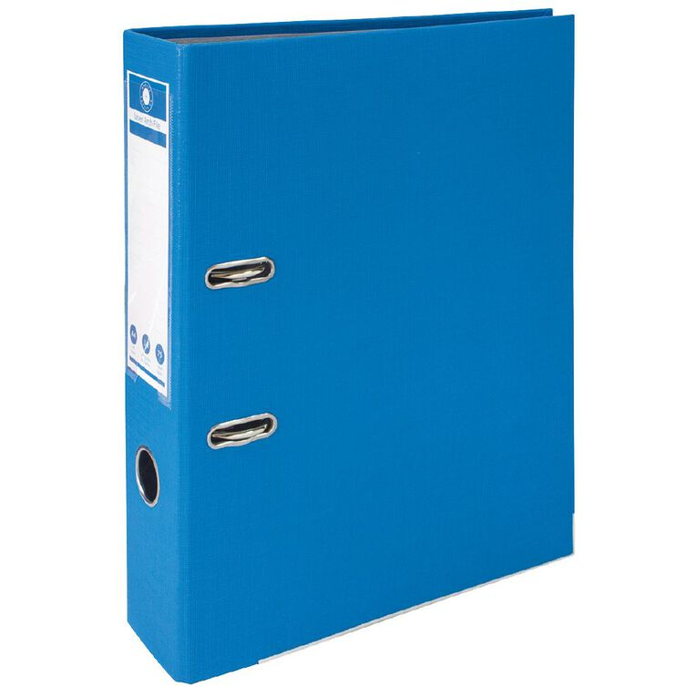 Office Supply Co Lever Arch Blue A4, , hi-res