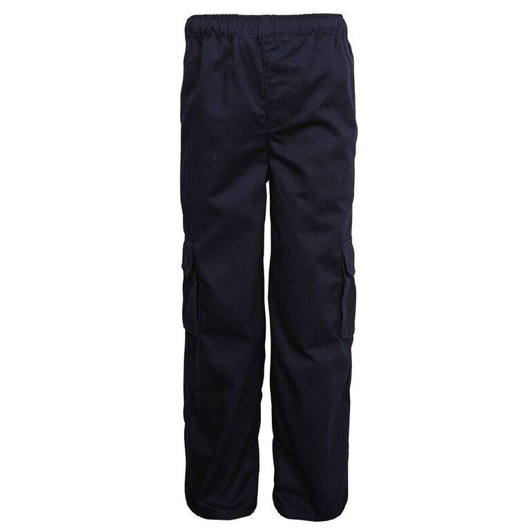 Schooltex Drill Cargo Pocket Pants, Navy, hi-res image number null