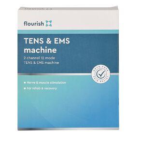 Flourish TENS & EMS Machine 2 Channel