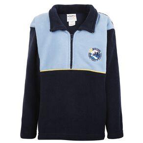 Schooltex Bayview School Polar Fleece Top with Embroidery