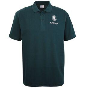Schooltex Kirkwood Intermediate Short Sleeve Polo with Transfer