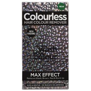 Colourless Max Effect Hair Colour Remover 180ml
