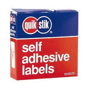 Quik Stik Labels Mr1335 13mm x 35mm 700 Pack White