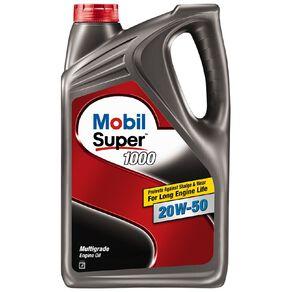 Mobil Super 1000 20w50 SP 4L Petrol Engine Oil