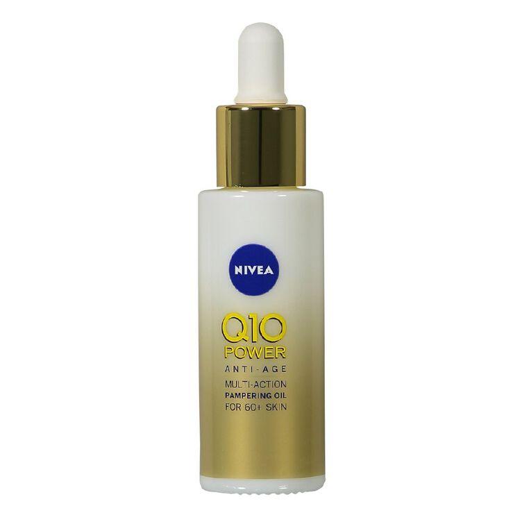 Nivea Q10 Power Mature Facial Oil 30ml, , hi-res
