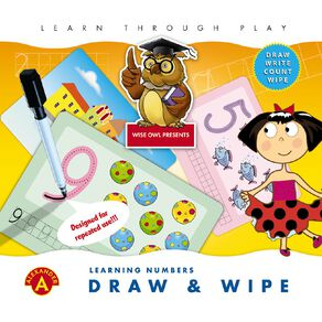 Alexander Games Draw and Wipe