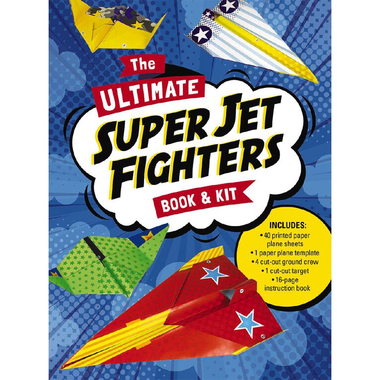 The Ultimate Super Jet Fighters Book & Kit, , hi-res image number null