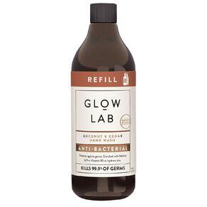 Glow Lab Handwash Coconut & Cedar Antibacterial 600ml