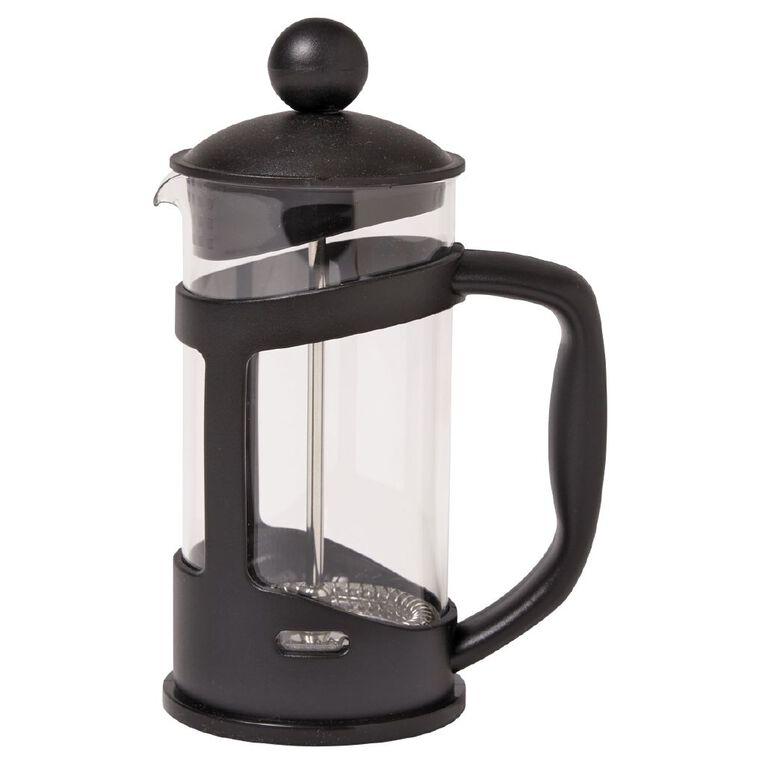 Living & Co Essentials Plastic Plunger Black 350ml, , hi-res