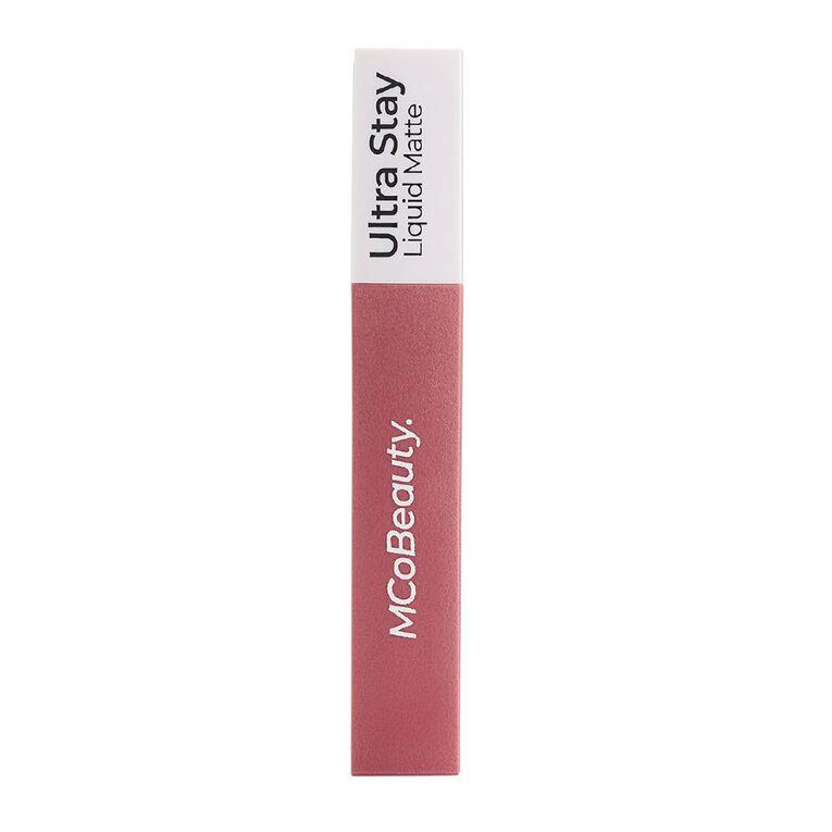 MCoBeauty Ultra Stay liquid Matte Lipstick Dusty Rose, , hi-res