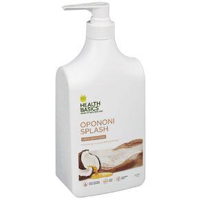 Health Basics Body Wash Oponi Splash Coconut Milk & Honey 1L