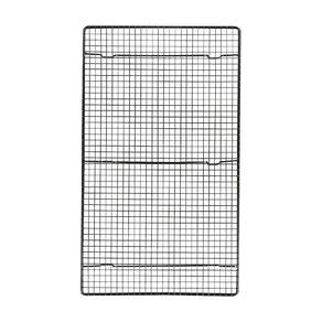 Living & Co Metal Cooling Rack Black 43cm x 26cm