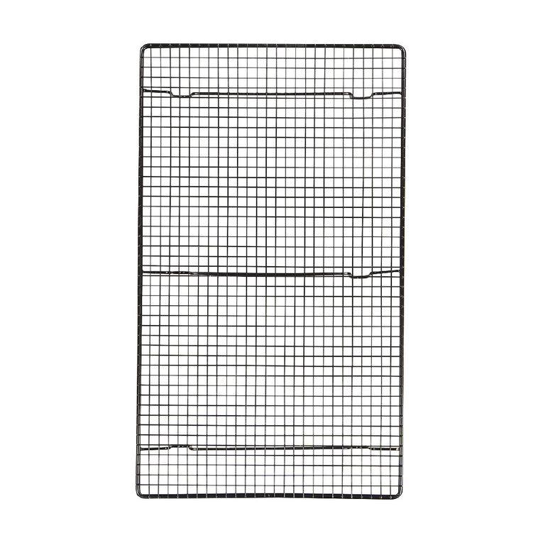 Living & Co Metal Cooling Rack Black 43cm x 26cm, , hi-res