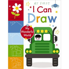 My First I Can Draw My Wonderful World by Amy Boxshall