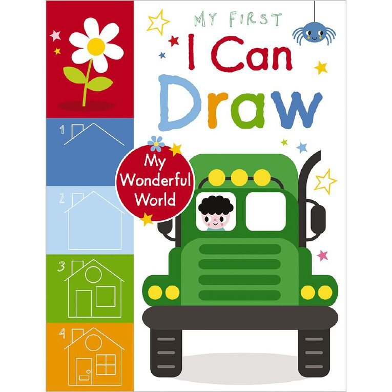 My First I Can Draw My Wonderful World by Amy Boxshall, , hi-res
