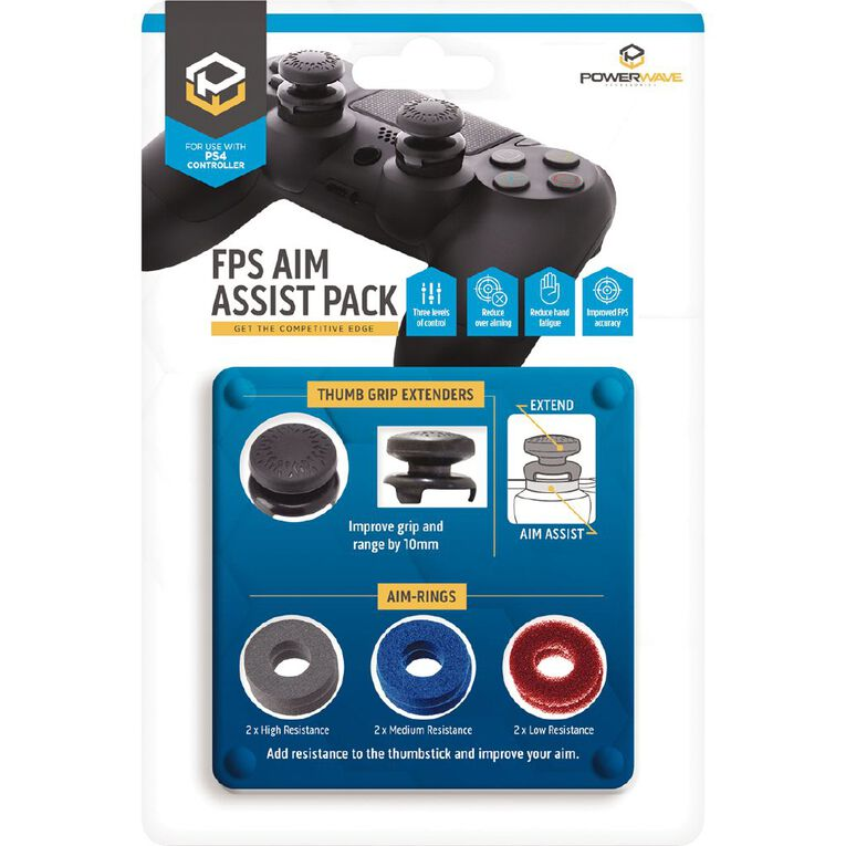 PowerWave PS4 Joystick Aim Assist Pack, , hi-res image number null