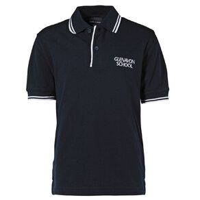 Schooltex Glenavon Short Sleeve Polo with Embroidery